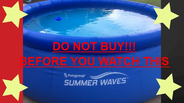 Polygroup Summer Waves 10f Swimming Pool Youtube