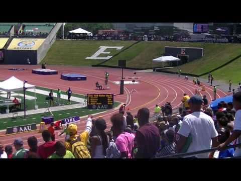 14yr Brianna Brown 55.10s 400m Finals AAU Junior Olympics 2017