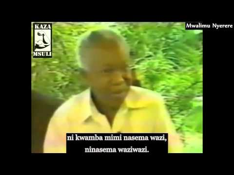 Mwalimu Nyerere [ ON THE IMF]