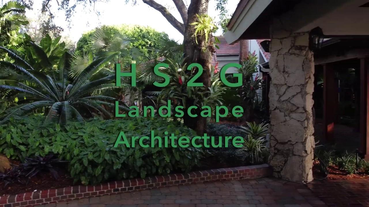 Tropical Modern Landscape Design Miami Florida Residence Youtube