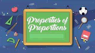 MATH 9 || PROPERTIES OF PROPORTIONS || TEACHER NORIE