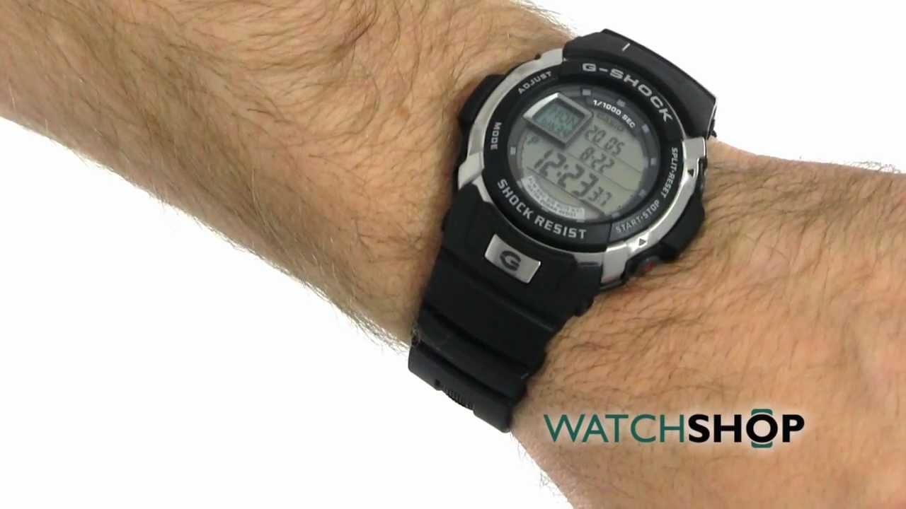 51bc39253 Gents Casio G-Shock Alarm Chronograph Watch (G-7700-1ER) | WatchShop.com™