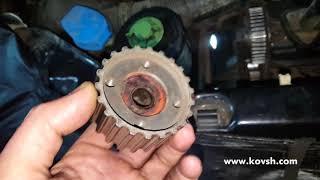 Причина биения шкива коленвала на VW T4 1.9d, ABL