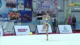 Пронина Вероника 2004г БП Первенство Локомотив 27-28 января 2016г
