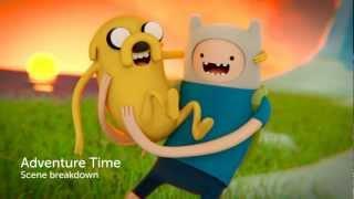 Adventure Time - Scene Breakdown