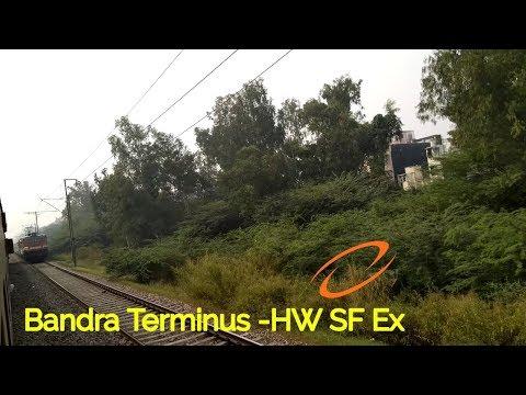 22917 Bandra Haridwar SF Express Show High Acceleration