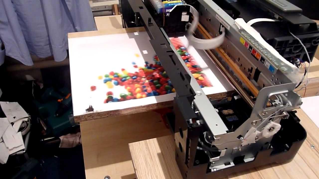 Уф принтер своими руками