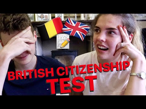 WE TOOK THE 'LIFE IN THE UK' TEST??