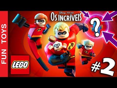 LEGO OS INCRÍVEIS #2 - Encontramos um personagem SECRETO da PIXAR neste gameplay em português PT-BR