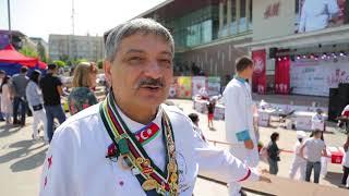 В Алматы состоялось ежегодное кулинарное шоу Shef Battle BBQ-2018