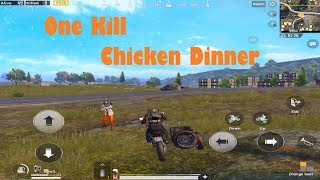 ONE KILL CHICKEN DINNER |Solo Victory| PUBG Mobile