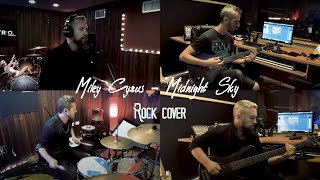 Miley Cyrus - Midnight Sky - ROCK Cover