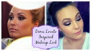 Demi Lovato Inspired Makeup Look Thumbnail