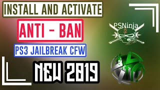 HOW TO INSTALL AND ACTIVATE ANTIBAN FOR MOD MENU PS3 JAILBREAK 2019