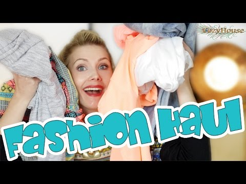 FASHION HAUL | PRIMARK, H&M, NEW YORKER by CozyHouse
