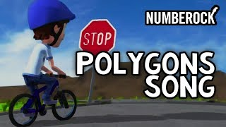 Polygons Song For Kids Rap Video: Geometry Quadrilaterals Hexagons etc.