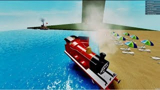 THOMAS AND FRIENDS Flip Thomas & His Friends Roblox part 5