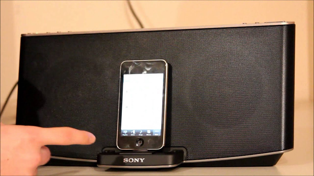 sony ipod docking station. sony x series rdp-x200ip speaker dock with bluetooth, review and sound test. - youtube ipod docking station d