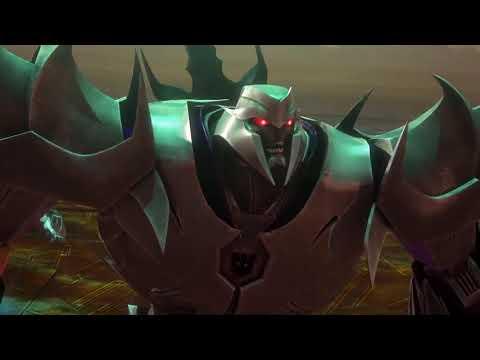Transformers Prime Optimus Omega Kilidini Yok Ediyor Bluray HD
