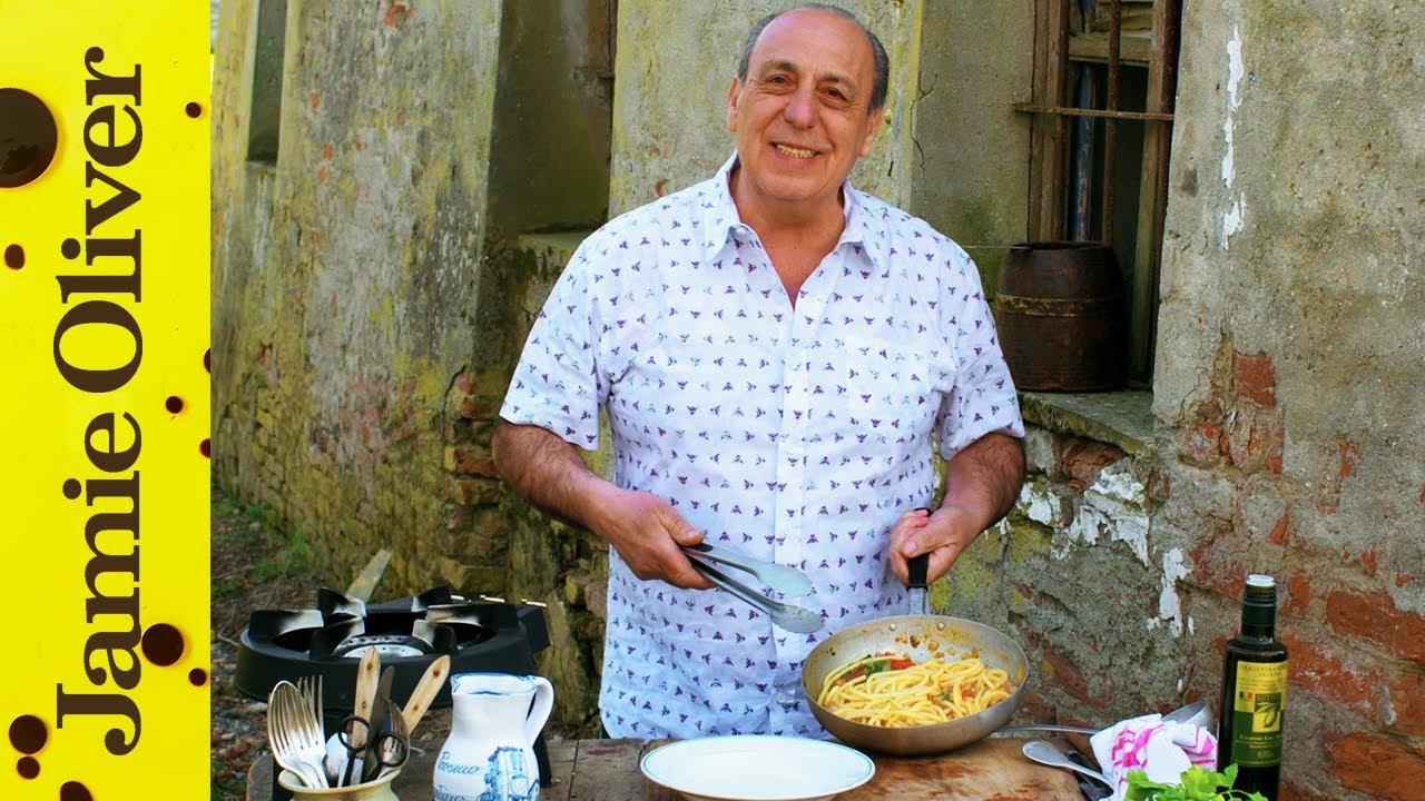 Download Pasta All'amatricana | Gennaro Contaldo | Italian Special