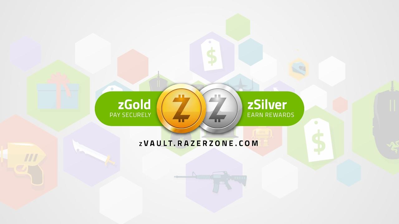 Razer's zVault is a digital wallet and rewards program for