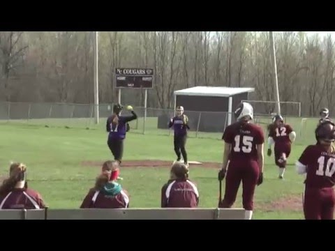 NCCS - Ticonderoga Softball  5-9-16