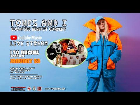 Tones and I - Live Bushfire Benefit Concert - Melbourne, Australia
