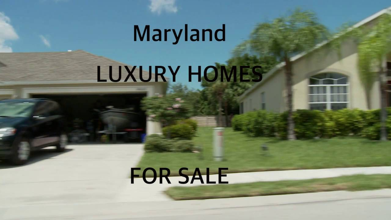 Maryland Luxury Homes For Sale