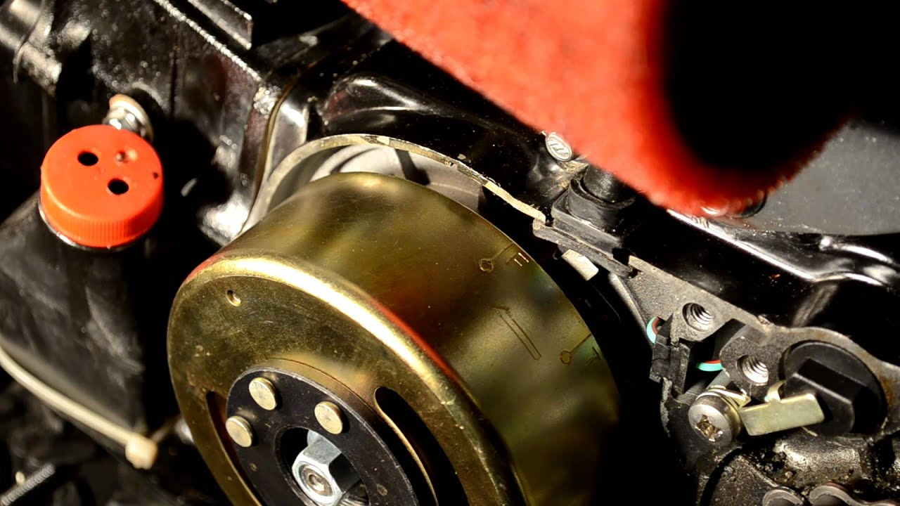 Tappet Adjustment on Lifan Z-50 Clone - YouTube