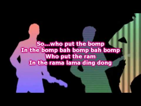 The Overtones » Who Put The Bomp Lyrics