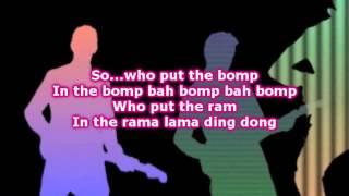 The Overtones » Who Put The Bomp Lyrics