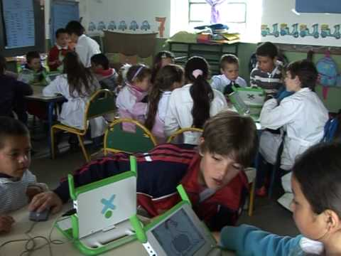 Computers for all, in Uruguay's schools