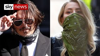 Johnny Depp libel case: Star found discovery of faeces in bed 'hilarious'