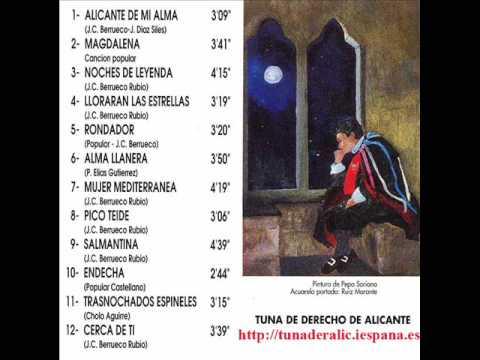 Pico Teide - Tuna de Derecho de Alicante - Mujer Mediterranea