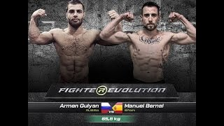 Armen Gulyan (Russia) VS Manuel Bernal (Spain) (Full HD)