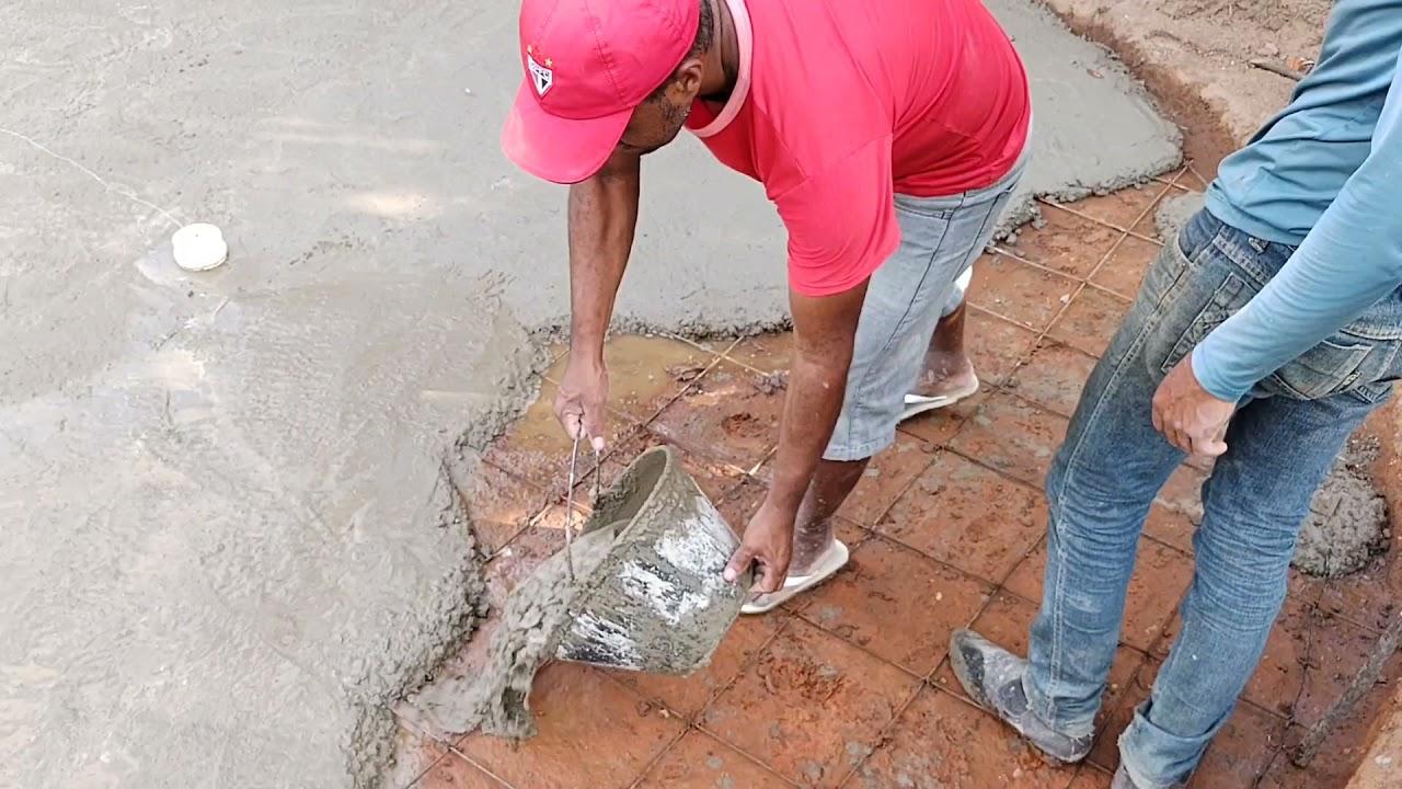 Download mais um grande passo na obra //fazendo o piso dos tanques para criação de tilápias