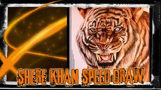 Shere Khan Speed Draw