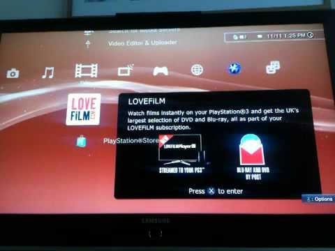 lovefilm ps3