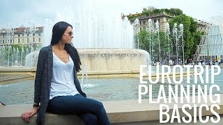 How to Plan Your First Trip to Europe