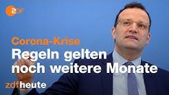 Jens Spahn: Kontaktverbot noch über Monate