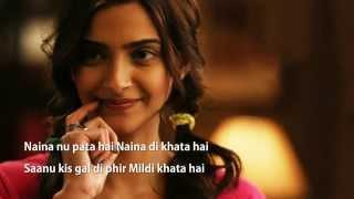 'Naina' Full Song Lyrics | Sona Mohapatra | Armaan Malik | Amaal Malik | Khoobsurat