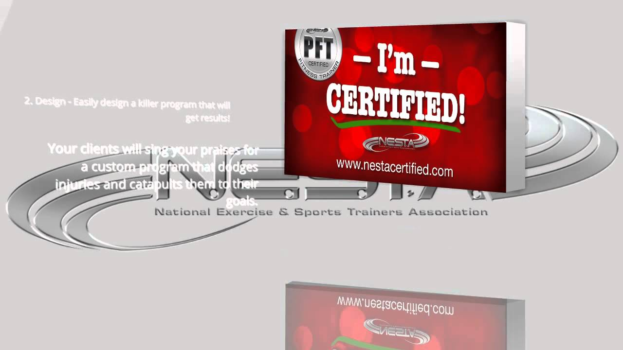 Best personal training certification program youtube best personal training certification program 1betcityfo Image collections