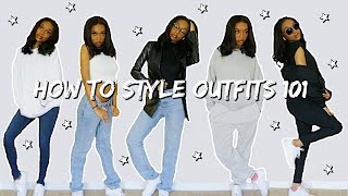 HOW TO STYLE OUTḞITS TO MATCH YOUR NEW AESTHETIC! | Coco Chinelo