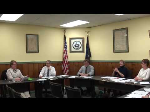 Champlain Village Board Meeting  3-14-16