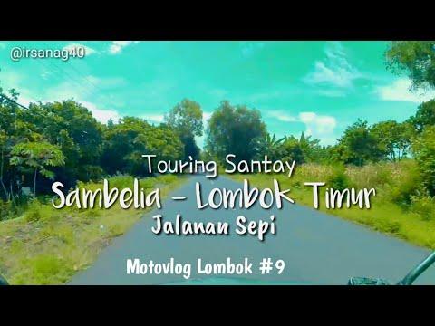 kondisi-jalan-sambelia-lombok-timur!!!-(motovlog-lombok#9)