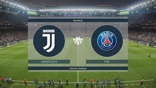 PES 2019   JUVENTUS VS PSG   GAMEPLAY PS4 (Relatos de De Paoli y Latorre)