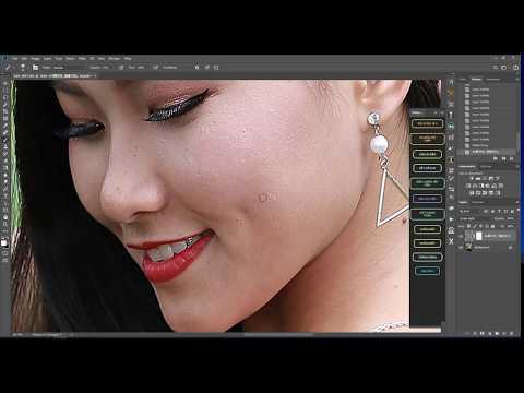 plugin, panel chỉnh da nhanh cho photoshop (góc chia sẻ )