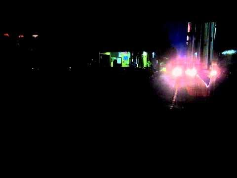 รถไฟ-สัญญาณออกรถเวลากลางคืน
