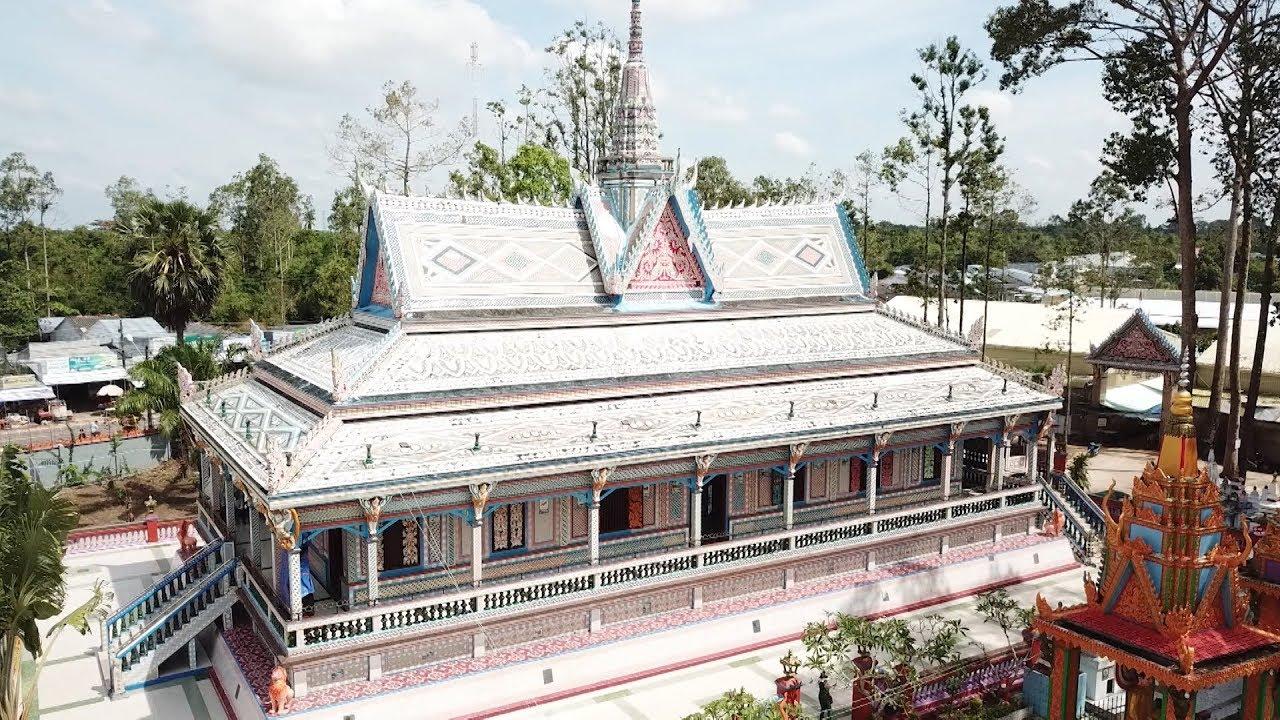 Sắc màu dân tộc: Nghệ thuật trang trí kiến trúc chùa Khơ Me ở Tây Nam Bộ