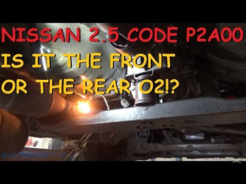 Nissan Frontier: P2A00 Front AFR Code (But Actually The Rear Is Bad!?)